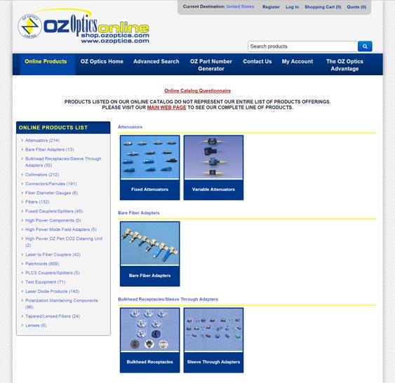 OZ Online Catalog
