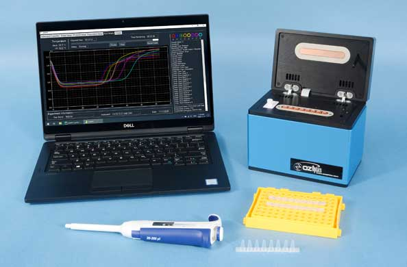 Low Cost Universal Optical DNA Rapid Detection System for Pathogens including Covid-19, Sars, Ebola, Cholera, Salmonella, etc. (Lamppy™ Series)